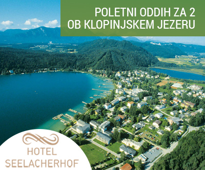 Oddih za 2 v Hotelu Seelacherhof ob Klopinjskem jezeru