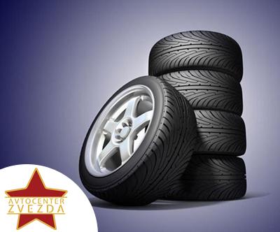 Premontaža pnevmatik do 16 col na jeklenih platišcih
