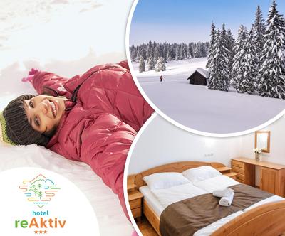 Zimski paket za 2 osebi v Hotelu reAktiv 3*