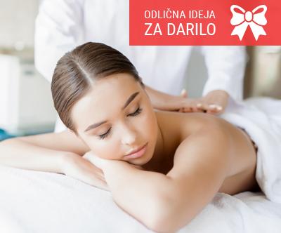 Energijska masaža hrbta (45-50 min) v salonu Aurora