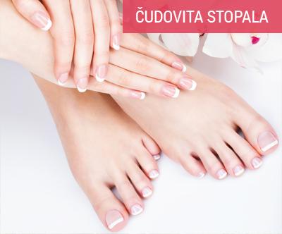 Osnovna pedikura z refleksno masažo stopal