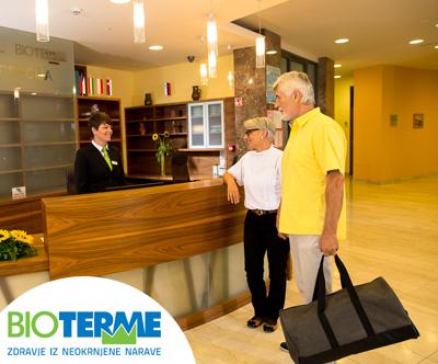 Pomladni oddih v Hotelu Bioterme 4* za 2 osebi