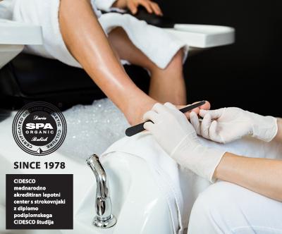 Spa klasicna estetska ALI medicinska pedikura za moške