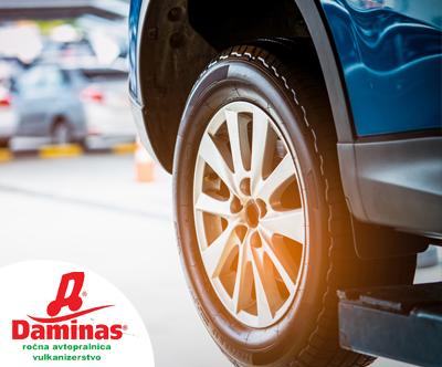 Menjava pnevmatik (previjacenje + centriranje)