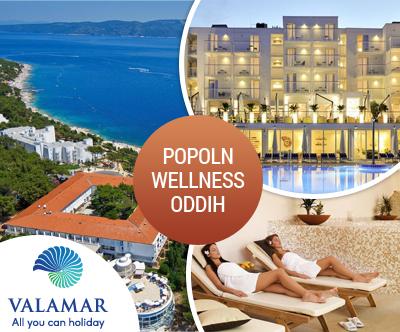 Wellness oddih v dvoje, Valamar Sanfior Hotel & Casa 4*