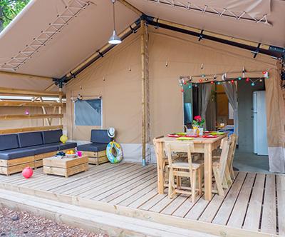 Luksuzne mobilne hiške ali šotori v 8 kampih v Istri