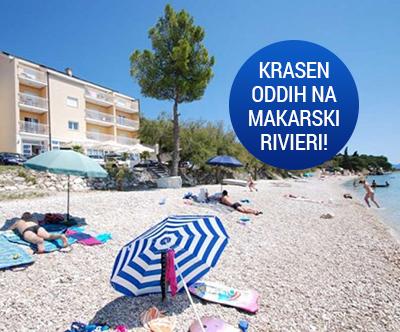 Cudovit morski oddih za 2 osebi na Makarski rivieri!