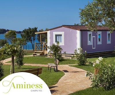 3-dnevni oddih za do 5 oseb v kampu Aminess Sirena