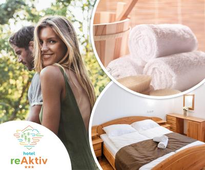 Pomladno-poletni paket za 2 osebi v Hotelu reAktiv 3*