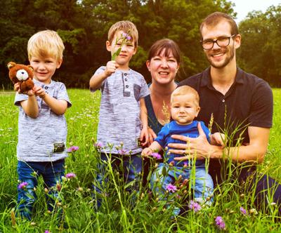 Profesionalno družinsko ali portretno fotografiranje