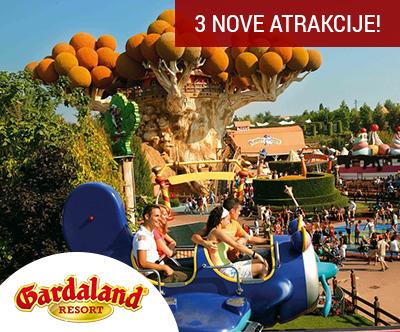 2-dnevna vstopnica za nepozabni Gardaland