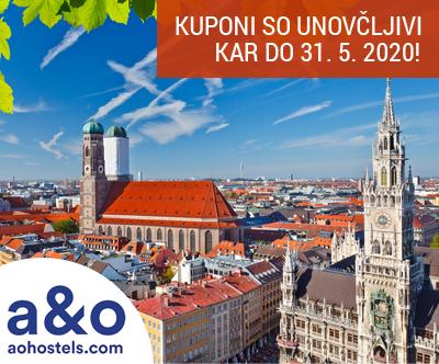 München, A&O hoteli