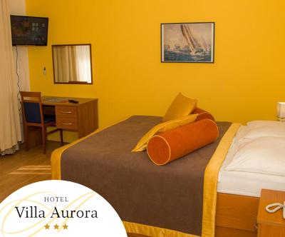 Sprošcen poletni oddih v Hotelu Villa Aurora 3*