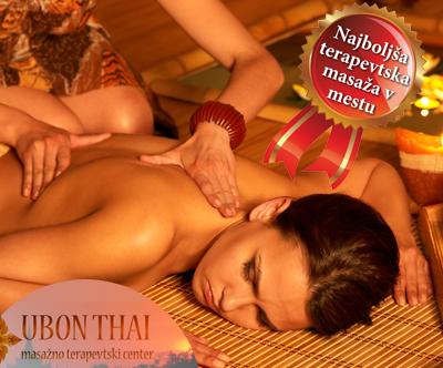 Tradicionalna tajska masaža v centru Ubon Thai