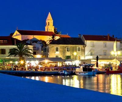 vila adriatic, biograd na moru