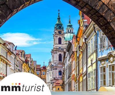 Popoln oddih v zlati Pragi s povratno letalsko karto