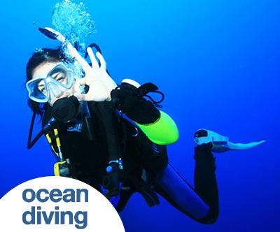 Spoznavni potop Discover Scuba Diving