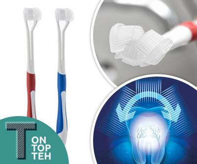 Inovativna 4D zobna šcetka (2 kosa)