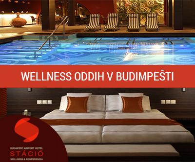 3-dnevni wellness oddih nedalec stran od Budimpešte