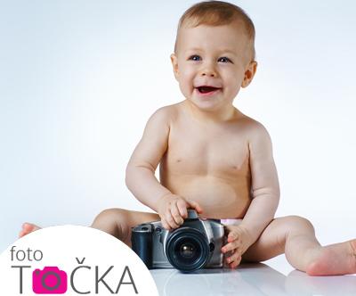 Ateljejsko fotografiranje pri Foto tocki
