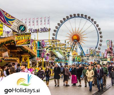 Bavarska in obisk festivala Oktoberfest z goHolidays!