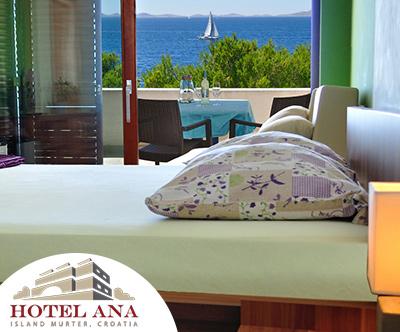 4-dnevni oddih za 2 v Hotelu Ana 3* na Murterju