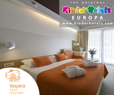 3-dnevni družinski oddih v Family Hotelu Vespera 4*