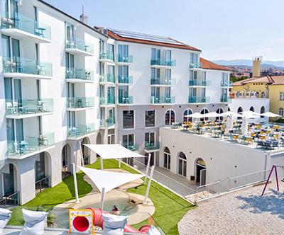 Družinski poletni oddih s polpenzionom v hotelu Lišanj