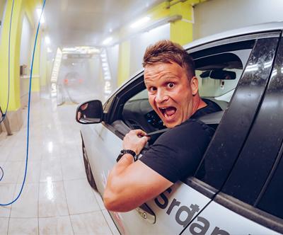 Pranje in sušenje avta