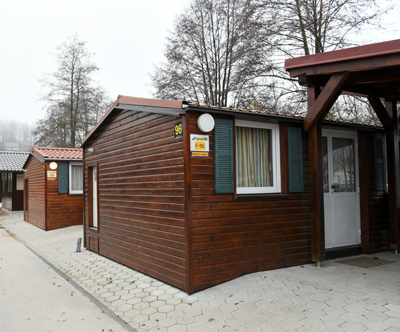 mobilne hiške, kamp natura