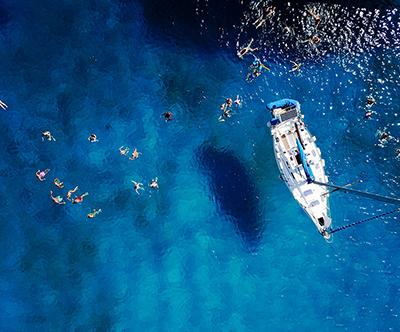 Open Sea Sailing Adventure
