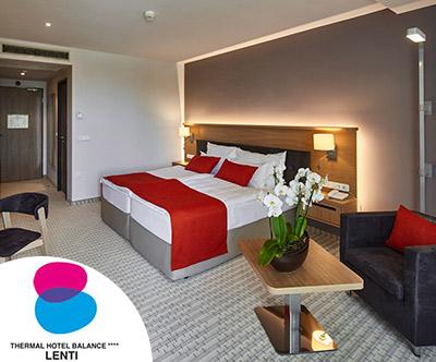 Nepozaben 3-dnevni oddih v Thermal hotelu Balance Lenti