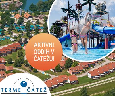 Terme village – Apartmaji Terme Catež***/lux