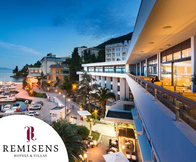 3-dnevni LAST MINUTE oddih v Remisens Hotelu Admiral 4*