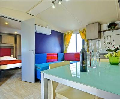 Edinstvene mobilne hiške v 3 odlicnih kampih v Istri