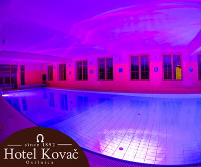 Popoln wellness paket v Hotelu Kovac 3*