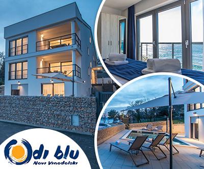 Nepozaben oddih v apartmajih Di Blu z lastno plažo