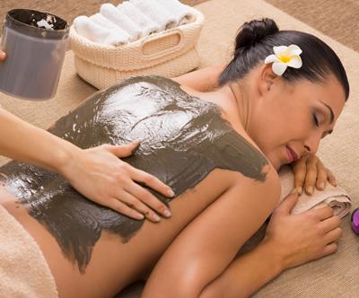 Masaža celega telesa + obloga z morskim blatom