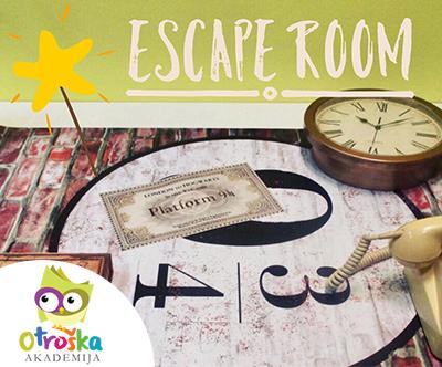 60-minutni Escape Room za otroke