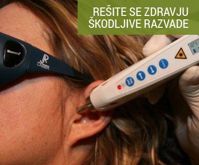laserska terapija proti kajenju