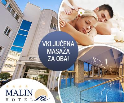 Jesenski wellness & spa oddih v Hotelu Malin na Krku