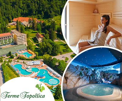 Jesenski oddih v hotelu Vesna 3*, Terme Topolšica