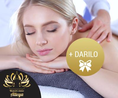 Zlata masaža celega telesa v studiu Alteya + DARILO
