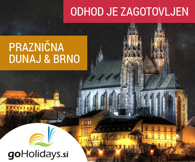 Dunaj in Brno, advent