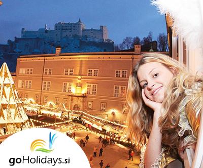 Izlet v praznicni Salzburg z goHolidays!