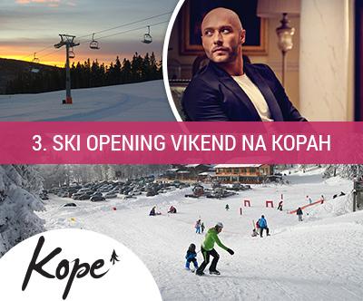 3. ski opening v Lukovem domu na Kopah