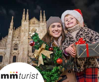 Carobni predbožicni Milano z M&M Turist!