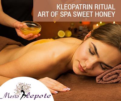 Razkošna relaksacijska masaža s toplim medenim oljem