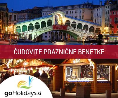 Praznicne Benetke z goHolidays + vožnja z ladjico!