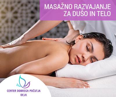 60-minutna klasicna masaža celega telesa